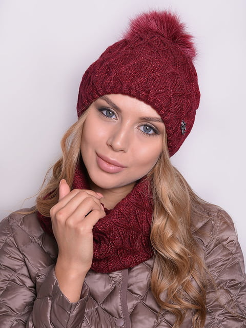Комплект: шапка і шарф Monleo 5259065