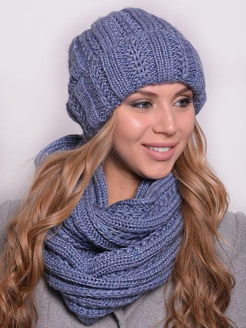 Комплект: шапка і шарф-снуд Monleo 5259070