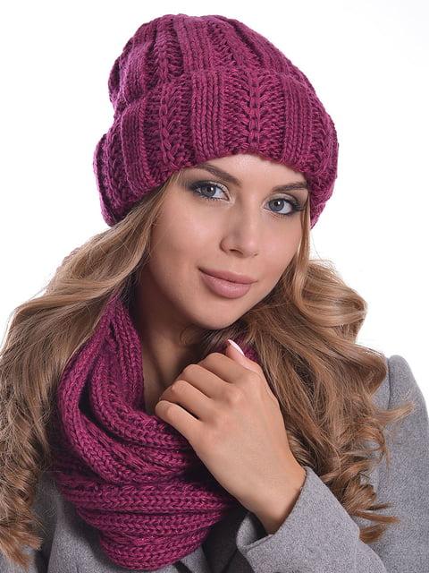 Комплект: шапка і шарф-снуд Monleo 5259074