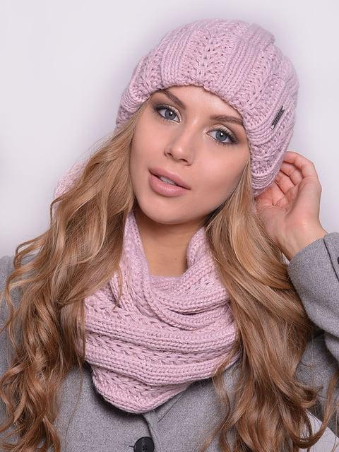 Комплект: шапка і шарф-снуд Monleo 5259075