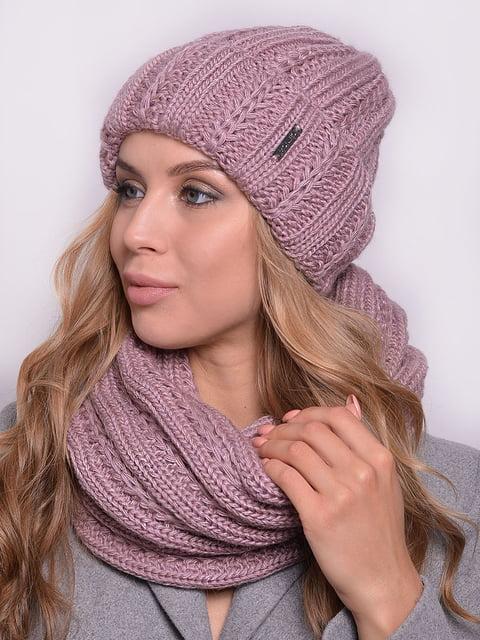 Комплект: шапка і шарф-снуд Monleo 5259076
