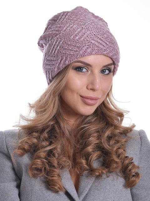 Шапка рожева Monleo 5259080