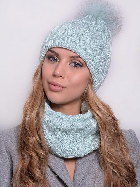 Комплект: шапка і шарф Monleo 5259094