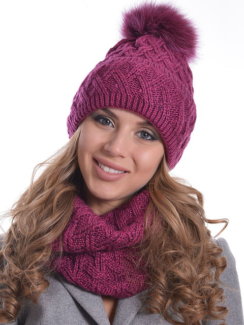 Комплект: шапка і шарф Monleo 5259099