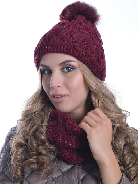 Комплект: шапка і шарф Monleo 5259100