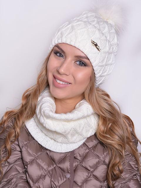 Комплект: шапка і шарф Monleo 5259102