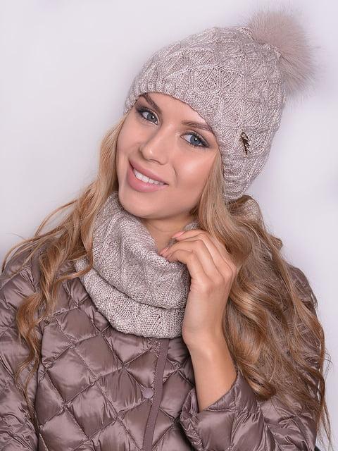 Комплект: шапка і шарф Monleo 5259104