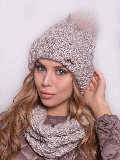 Комплект: шапка і снуд Monleo 5259107
