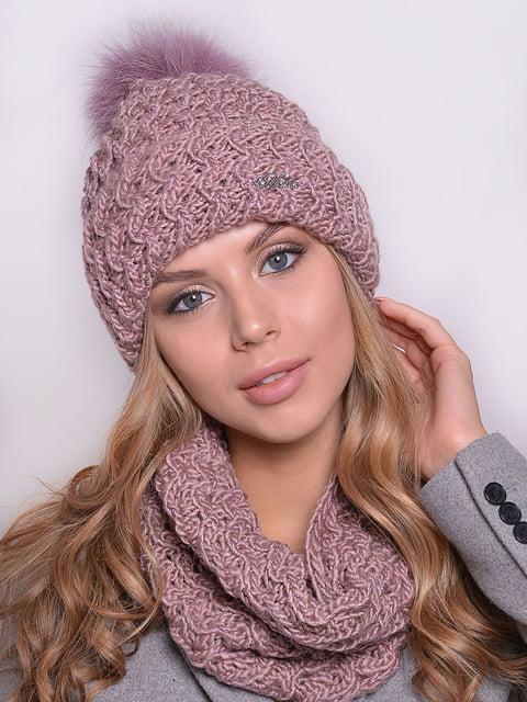 Комплект: шапка і снуд Monleo 5259114
