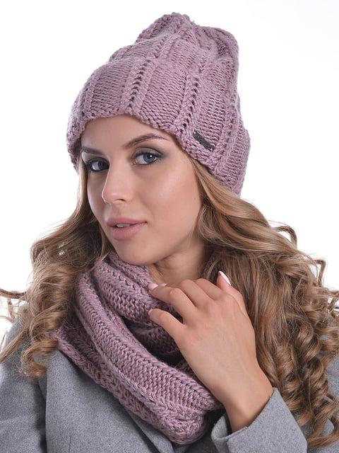 Комплект: шапка і шарф-снуд Monleo 5259115