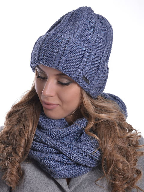 Комплект: шапка і шарф-снуд Monleo 5259121