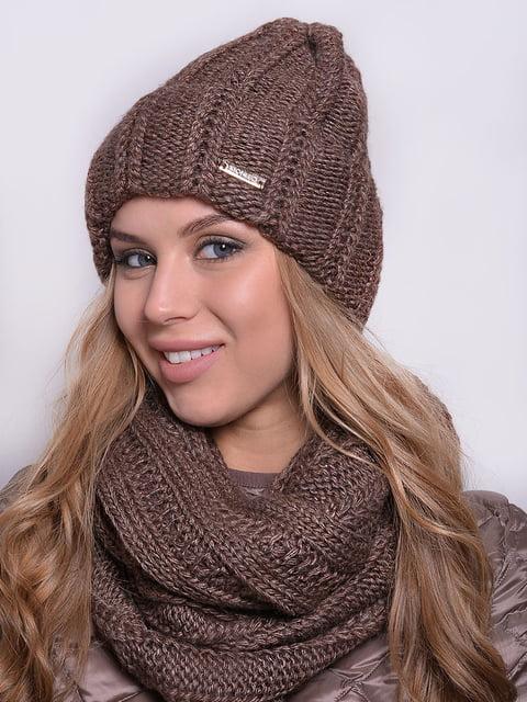 Комплект: шапка і шарф-снуд Monleo 5259122