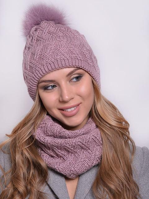 Комплект: шапка і шарф Monleo 5259095