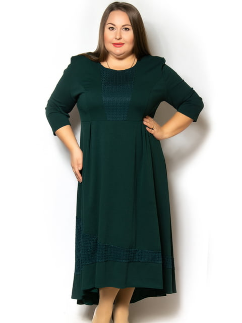 Платье темно-зеленое LibeAmore 5262513