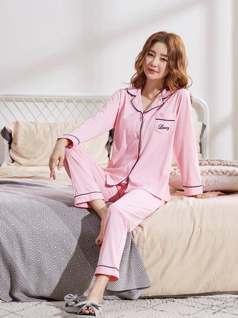 Комплект: рубашка ночная и брюки Lmameyi 5263104