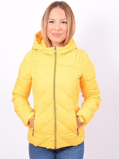 Куртка жовта Kenvelo 5263782