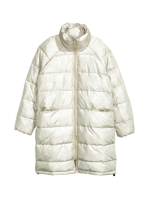 Куртка молочного кольору H&M 5264241