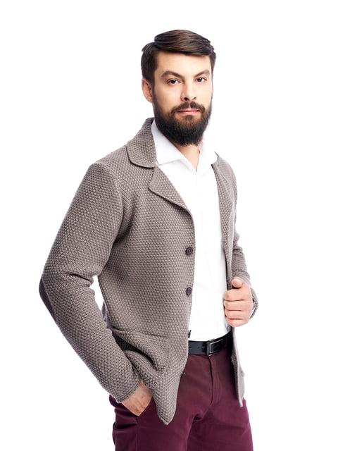 Пиджак цвета капучино G-Rom 5265042