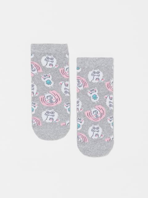 Шкарпетки сірі в принт Oviesse 5183647