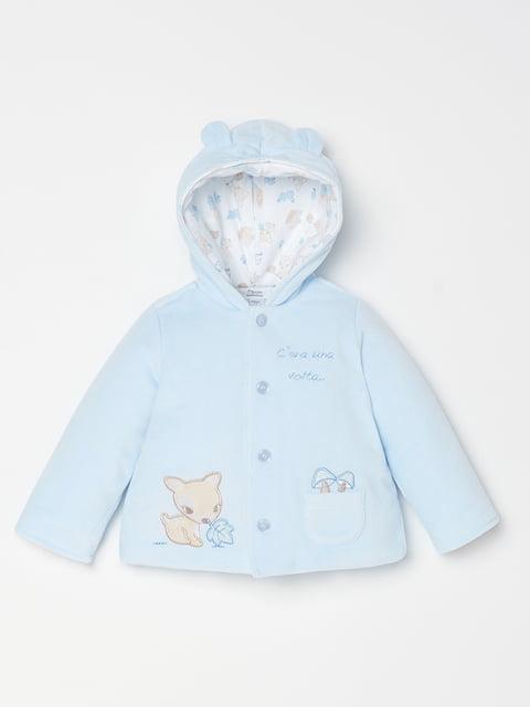 Куртка блакитна Oviesse 5183710