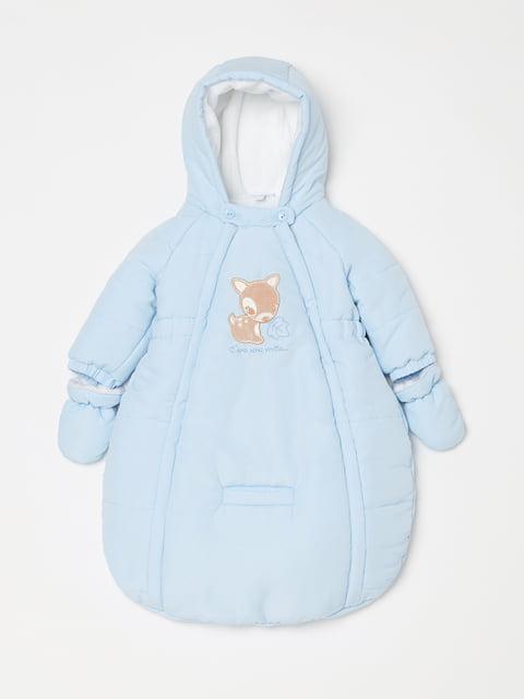 Конверт для немовляти блакитний Oviesse 5201166