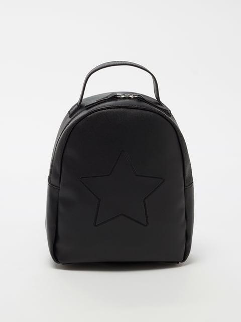 Рюкзак чорний Oviesse 5201280