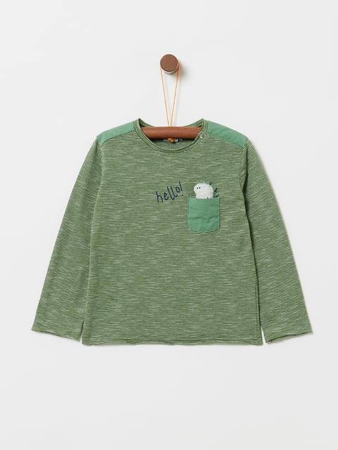 Джемпер зеленый Oviesse 5229915
