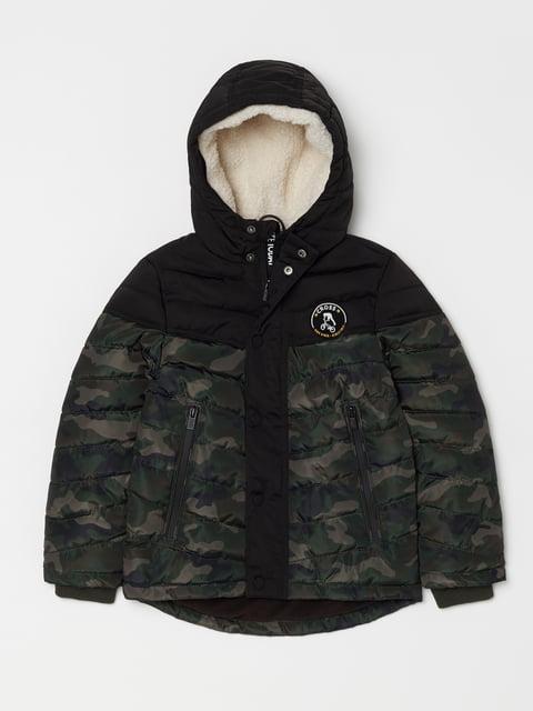 Куртка чорна Oviesse 5265108