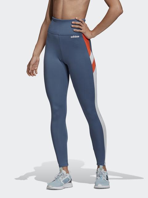 Леггинсы синие Adidas 5181074