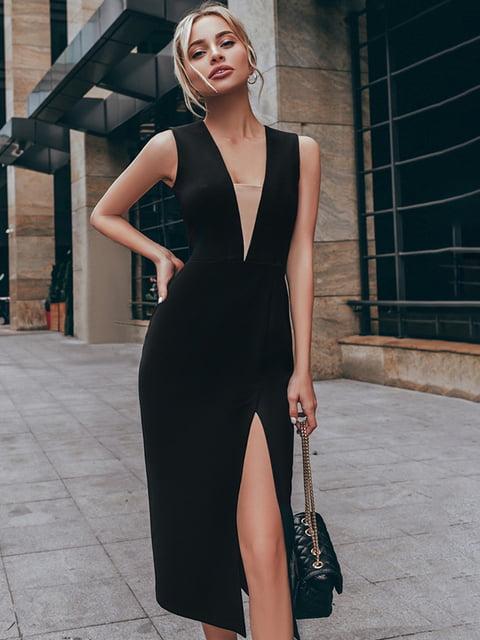 Платье черное Gepur 5246493