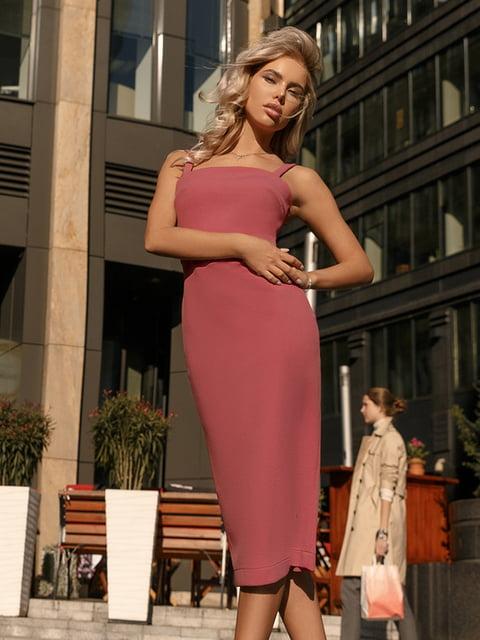 Платье коричневое Gepur 5246512