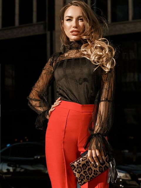 Блуза черная Gepur 5246515