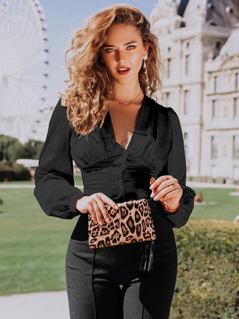 Блуза черная Gepur 5246520