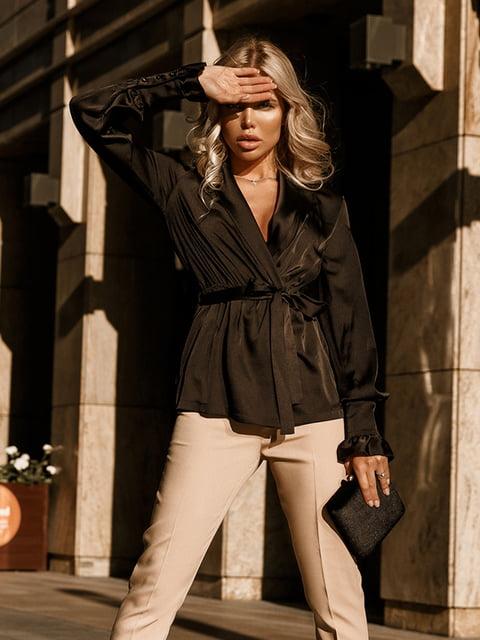 Блуза черная Gepur 5246523