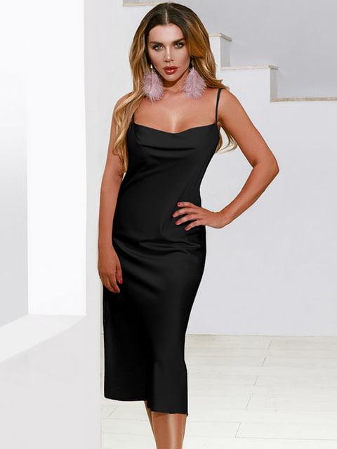 Платье черное Gepur 5258852