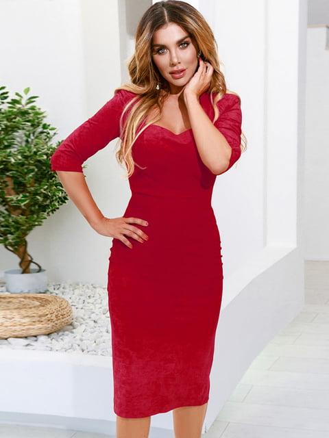 Платье красное Gepur 5258857