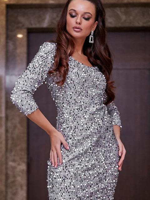 Платье серебристое Seventeen 5268811