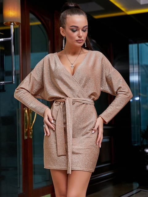 Платье персикового цвета Seventeen 5268837