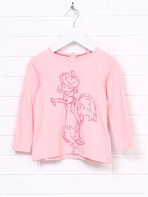 Лонгслив розовый ICE AGE 5266357