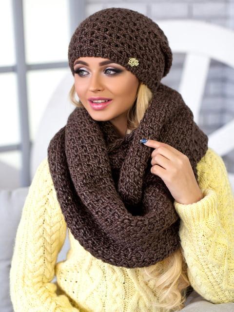 Комплект: шапка и шарф-снуд BRAXTON 5270809