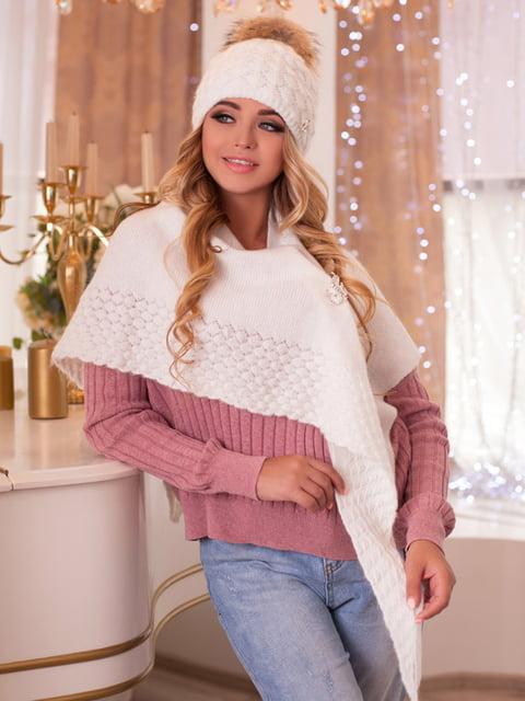 Комплект: шапка и шарф-бактус BRAXTON 5270912