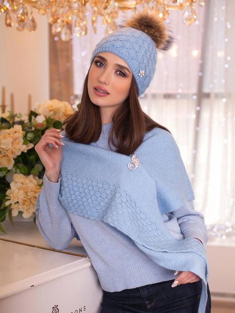 Комплект: шапка и шарф-бактус BRAXTON 5270913