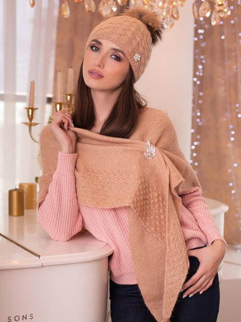 Комплект: шапка и шарф-бактус BRAXTON 5270915