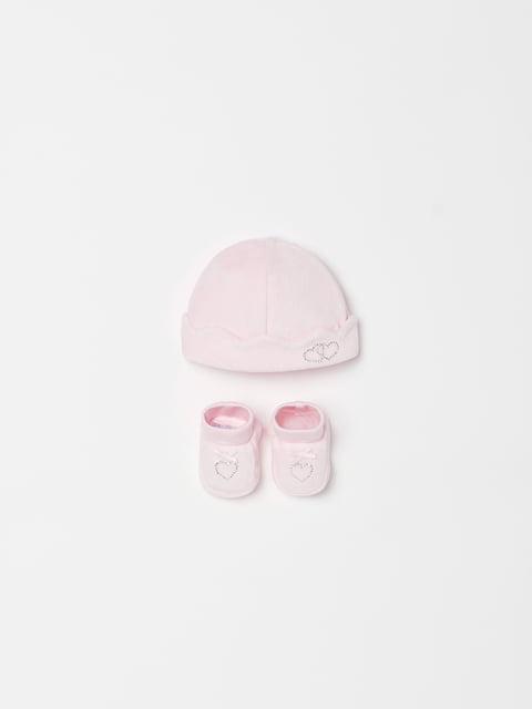 Комплект: шапка та пінетки Oviesse 5166640
