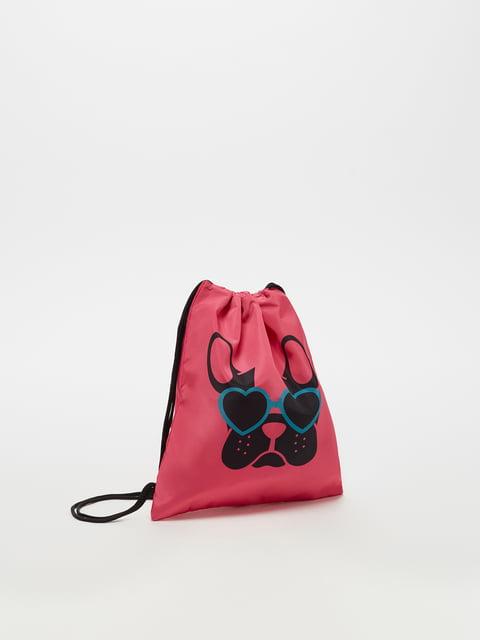 Рюкзак рожевий Oviesse 5183545