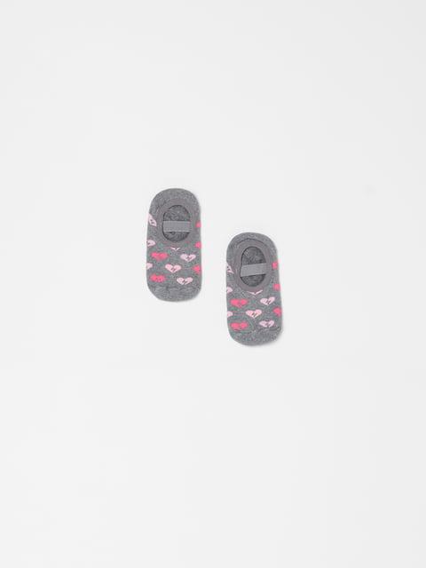 Шкарпетки сірі Oviesse 5183604
