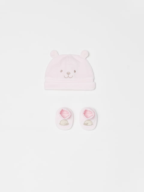 Комплект: шапка та пінетки Oviesse 5183693