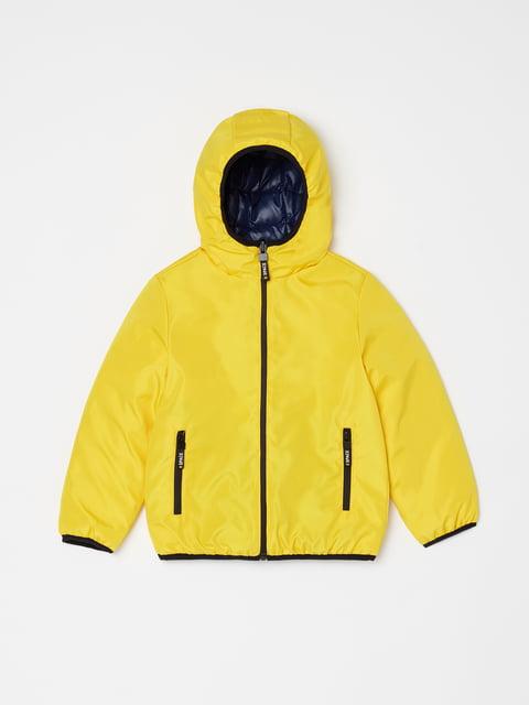 Куртка жовта Oviesse 5201172