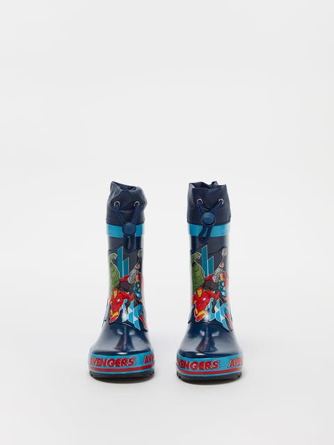 Сапоги резиновые синие Oviesse 5201250