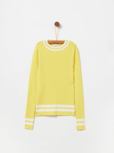 Джемпер желтый Oviesse 5229948